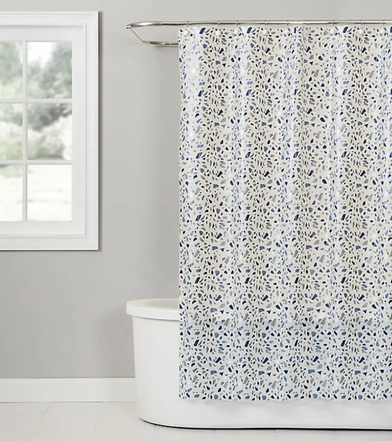 zero waste shower curtain options for a