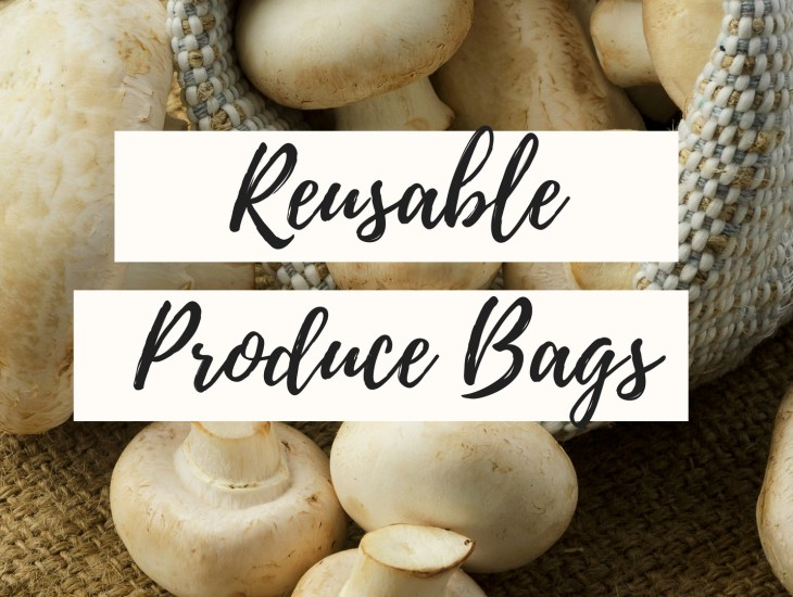 zero waste cloth produce bags