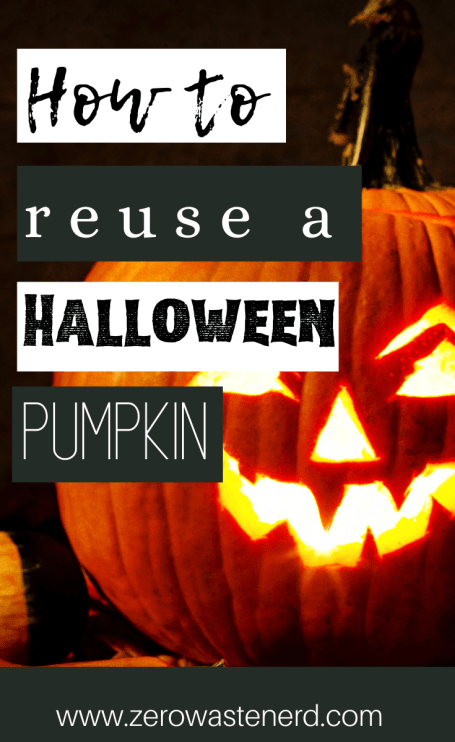 How to Reuse a Halloween Pumpkin