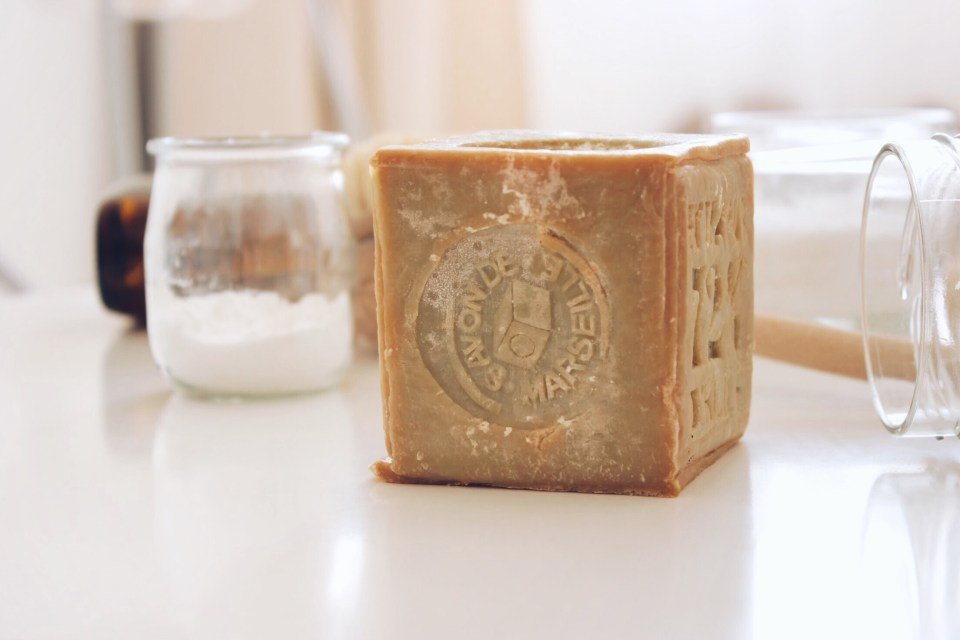 натурален марсилски сапун
