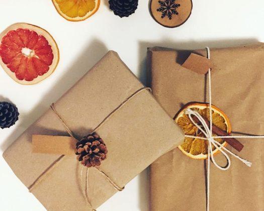 устойчиви коледни подаръци и опаковки