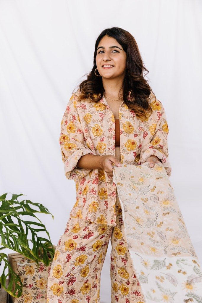 Mahima Gujral is the founder of Singapore and India-based label Sui, an environmentally conscious fashion designer