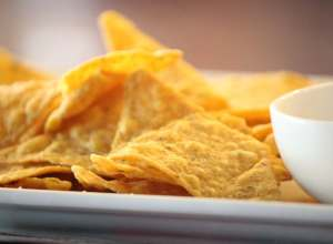tortilla chips healthier than potato chips