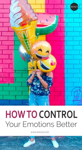 How to Control Your Emotions Better - Mental Health Tips