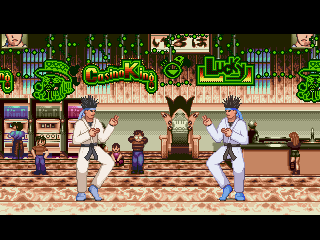 Mugen King Gamble Casino Stage from Ranma 1/2 SNES Game