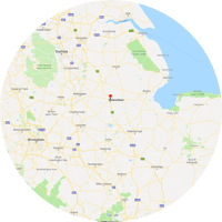 Based near Grantham in Lincolnshire