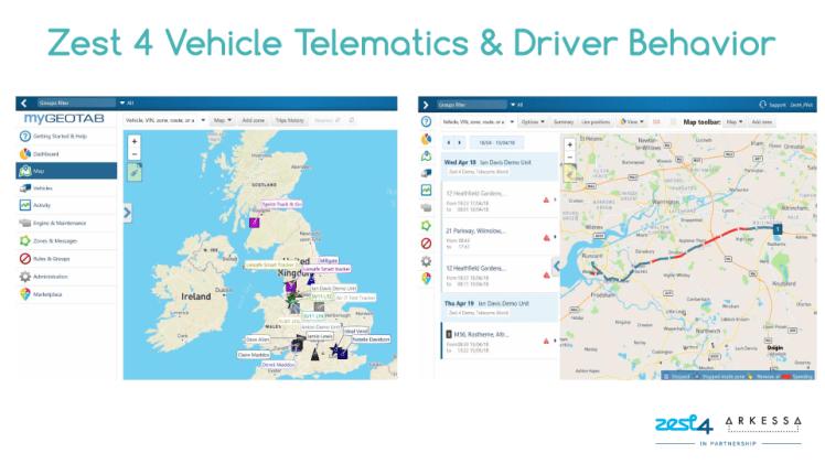 Telematics-Training-Deck-Driver-Behaviour