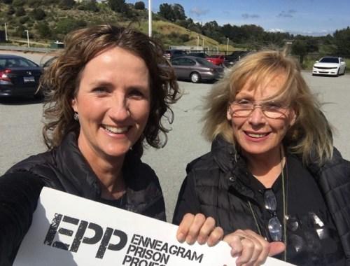 Susan Olesek and Sue Lambert