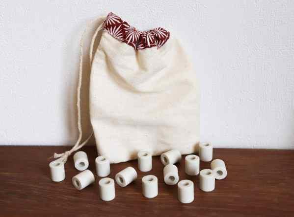 Perles de céramique zéro dechet