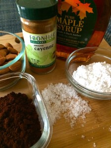 Ingredients for Almonds