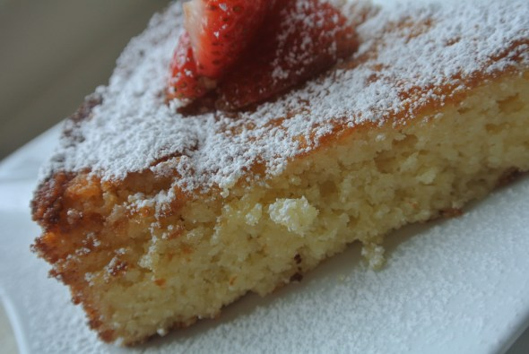Coconut Almond Cake