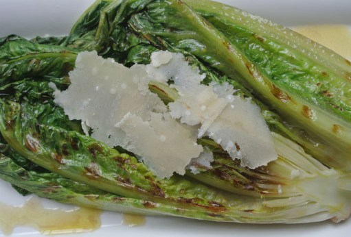 Grilled Romain Caesar Salad