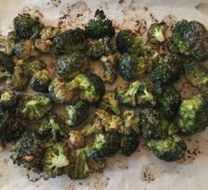Tahini Roasted Broccoli