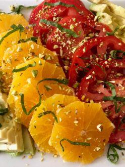 Tomato Citrus Salad