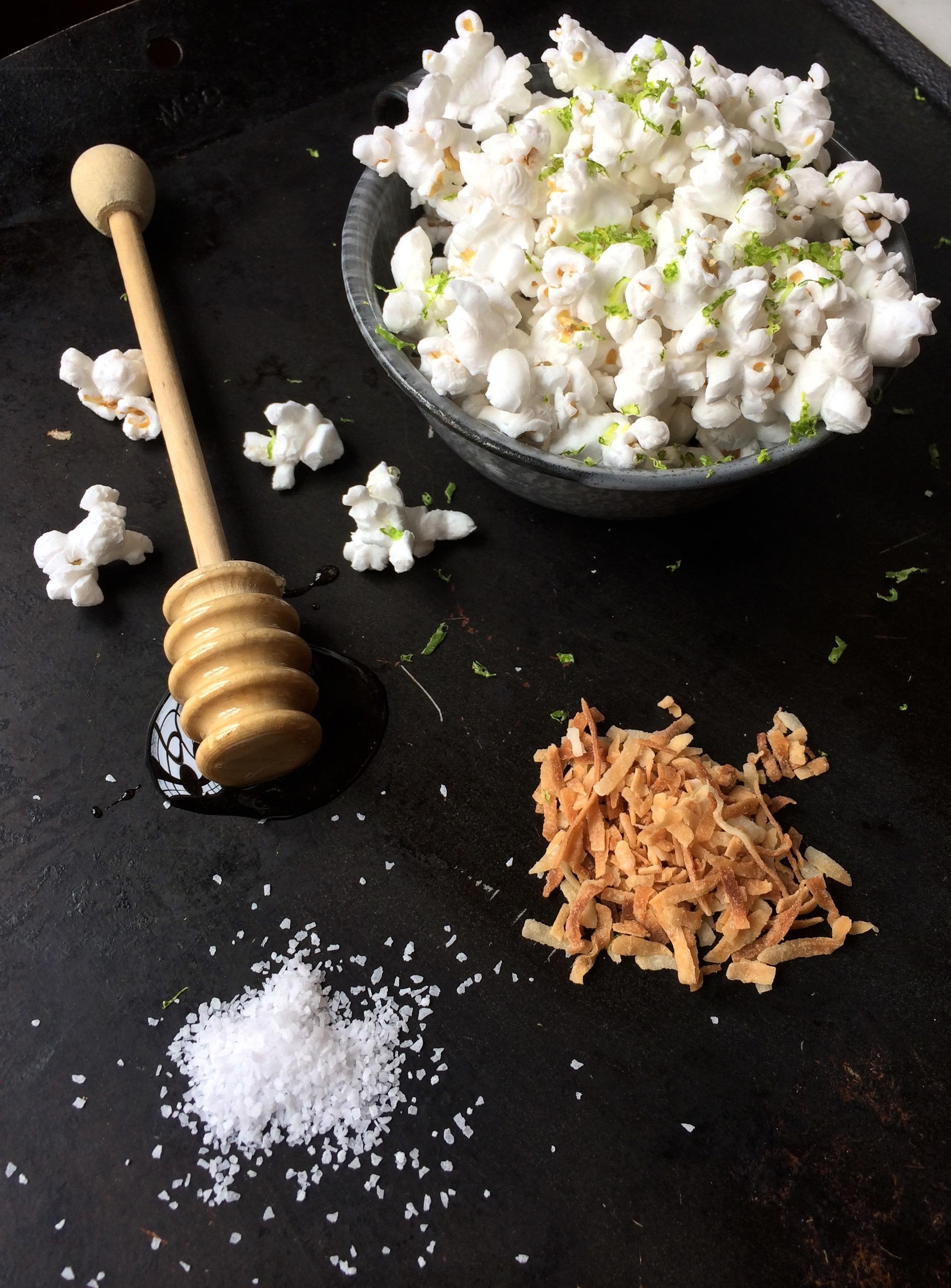 Margarita Popcorn | Zestful Kitchen