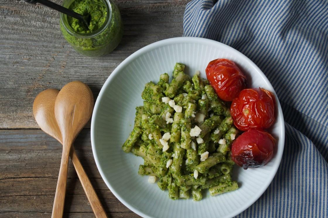 Pistachio & Arugula Basil Pesto + 5 Ways to Use Pesto