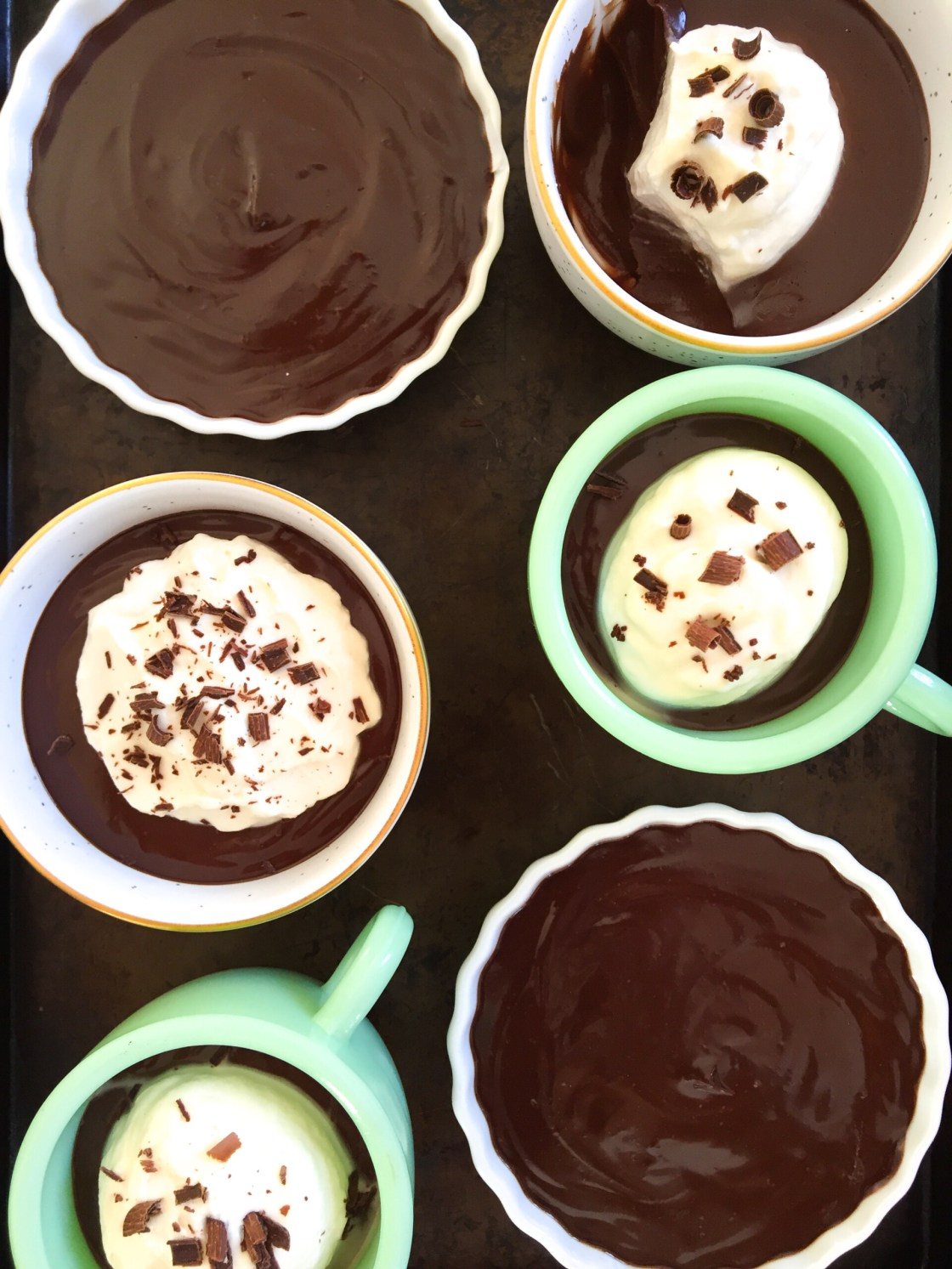 Chocolate Pots de Crème | Zestful Kitchen