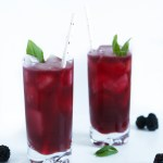Blackberry & Basil Gin Smash | Zestful Kitchen