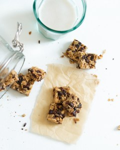 Cherry & Almond Granola Bites with Cocoa Nibs | Zestful Kitchen