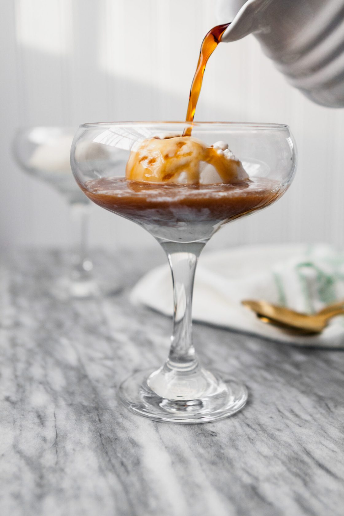 Affogato al Caffè from the cookbook, Pretty Simple Cooking. | via Zestful Kitchen