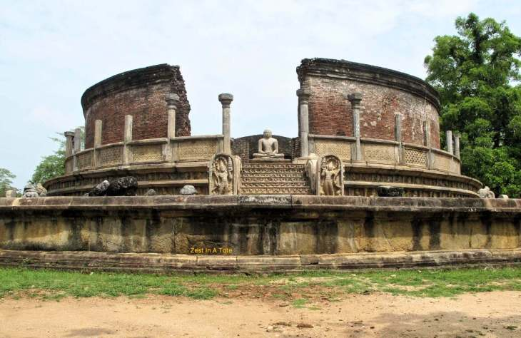 Polonnaruwa, Sri Lanka's second capital in medieval times.