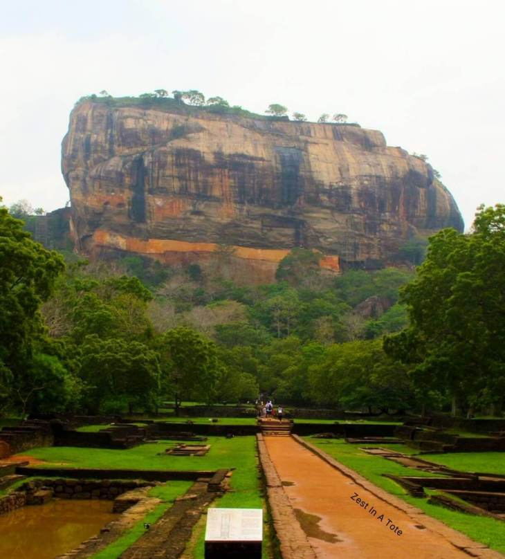 Sigiriya or Lion Rock is perhaps Sri Lanka's most memorable attraction.