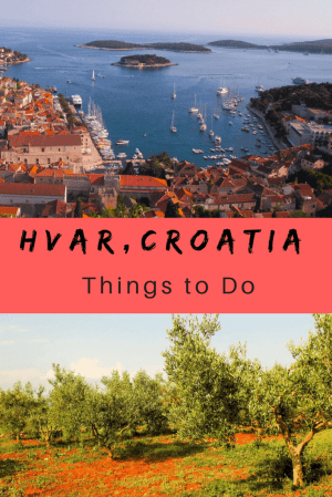 """Hvar comes with a tag of """"one of the 10 most beautiful islands in the world."""" And despite its reputation as a party town, we found it offers a lot more for families. Read more for things to do in Hvar. #hvar #croatia #hvarsightseeing #thingstodoinhvar"""