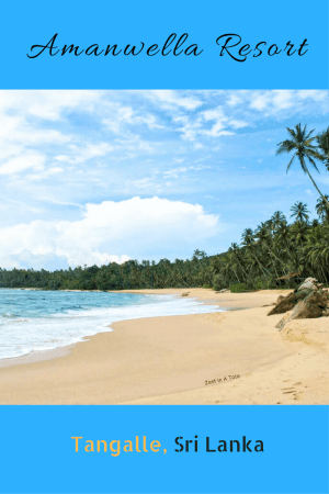 If you are looking for a vacation on unspoilt beaches and luxury stay, Amanwella in Tangalle is a good choice. #srilanka #luxuryresort #amanjunkie #tangalle #beachresort #srilankaresort