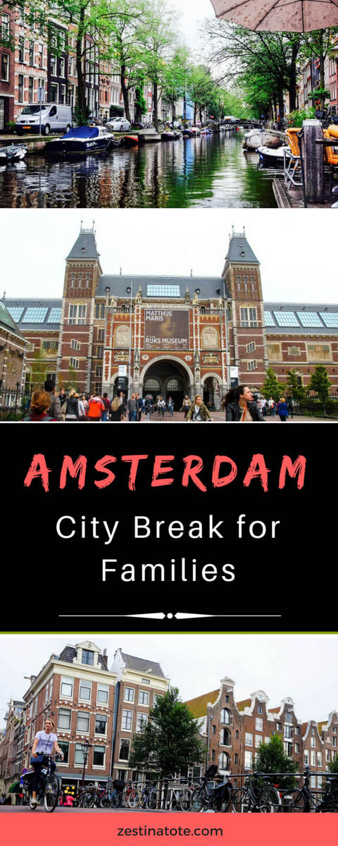 Amsterdam city break for families