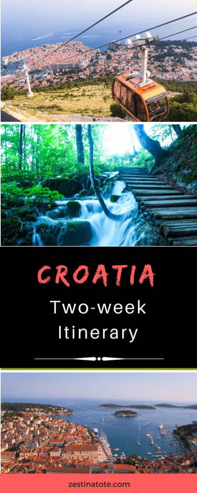 Croatia-Itinerary