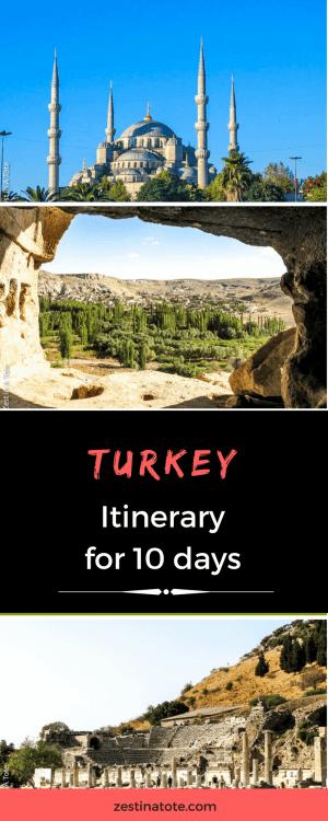 TurkeyItinerary