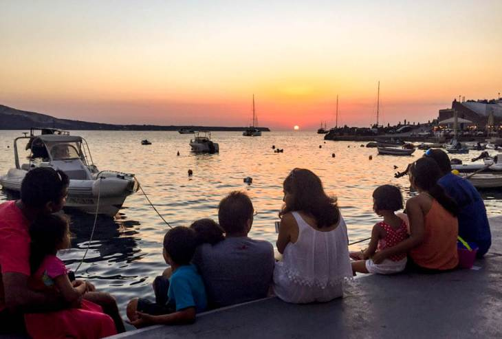 greece with kids, greece family vacation itinerary