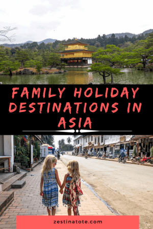 Explore more of this vibrant continent where culture, people, landscapes, food, history and traffic collide in a unique way. Here are 12 family-friendly destinations in Asia to inspire you for the next family holiday! #asia #familytravel #familyholidays #bestholidaydestinationsinasia