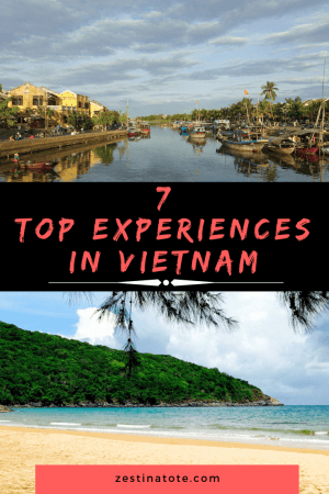 If I look back at my time spent in Vietnam, it appears like a series of unforgettable experiences. But don't ask me for my favourite. My list of best things to do and places to visit in Vietnam is quite extensive. #vietnam #thingstodoinvietnam #whattodoinvietnam #wheretogoinvietnam #hoian #hue #cycling #baitulongbay #condao #cuchitunnels #haivanpass