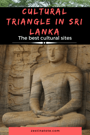 The most famous cultural and religious sites in Sri Lanka are in the central heartland of the country, popularly known as the Cultural Triangle. Read more about the top cultural sites - Sigiriya, Polonnaruwa and Dambulla. Also, see the elephants in the wild at Kaudulla National Park. #srilanka #culturaltrianglesrilanka #culturalsightseeing #sigiriyarockclimb #placestovisitinpolonnaruwa #dambullacavetemple #wildlifesafarisrilanka