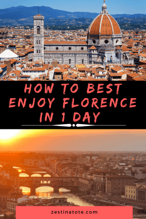 Florence is an open air museum. Perfect for strolling around the narrow cobbled streets and taking in the stunning sights. I give you a Forence one day itinerary that I took enjoy exploring this enchanting city on foot with my family. #italy #florence #florenceinoneday #whattodoinflorence #florencewithkids #familytravel