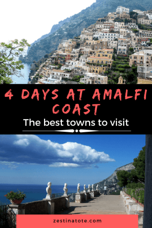 The 4 days at Amalfi coast were strategically sandwiched between the hectic sightseeing in our classic 2 weeks Italy itinerary. For the first time traveller to this stunning coast, Amalfi, Positano, Ravello and Capri are not to be missed. #italy #amalficoast #amalfi #positano #ravello #capri #amalficoastitinerary