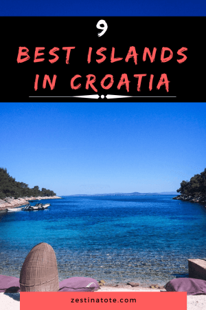 With access to a long coastline across the Adriatic Sea and about a 1000 islands, your Croatia itinerary is bound to take you off the mainland. Check out this post for some of the best islands in Croatia recommended by travel bloggers. #croatia #bestislands #croatianislands #islandstovisitfromsplit #islandstovisitfromdubrovnik #islandstovisitfromzadar