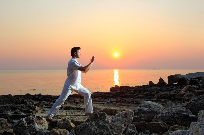 Tai Chi Sunset