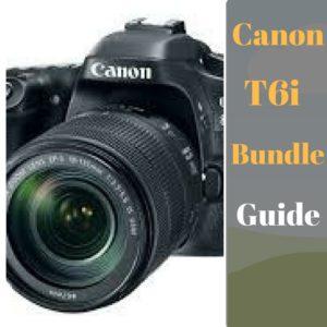 Canon t6i bundle deals