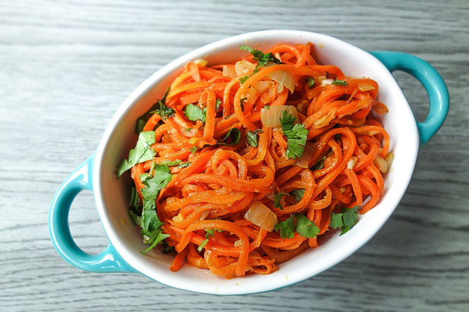 Carrot Spaghetti (Egg-Free, AIP, Reintroduction) - Zesty Paleo