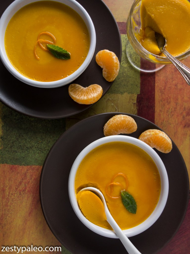 Orange Kabocha Squash Pudding (Dairy-Free, Egg-Free, AIP) - Zesty Paleo