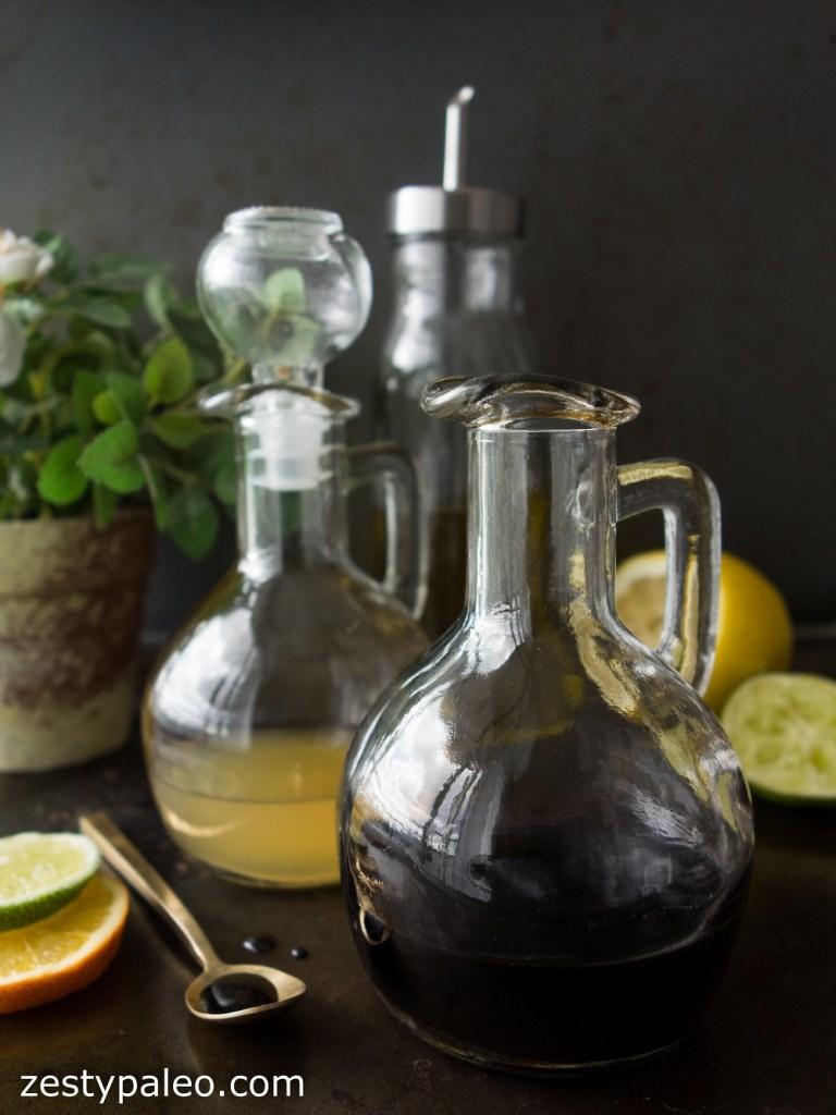 Citrus Balsamic Reduction (Nightshade-Free, AIP) - Zesty Paleo