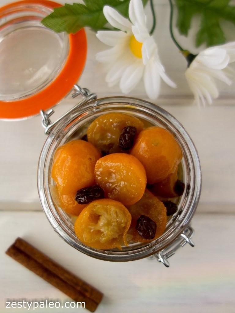 Spicy Kumquat Chutney (Nightshade-Free, AIP) - Zesty Paleo
