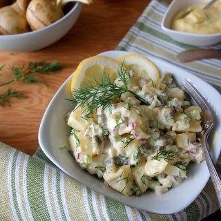 "Russian Notato Salad à la ""Olivier"" (Nightshade-Free, AIP)"