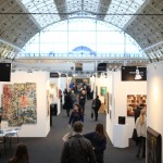 shair visiting 'London Art Fair'