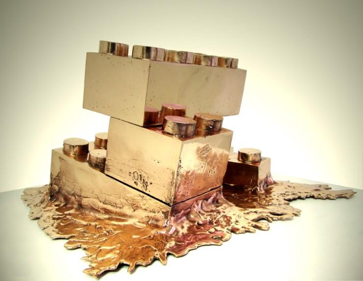 Matteo Negri - Esculturas Contemporaneas Lego