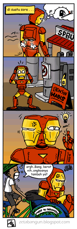 Ironman without petrol