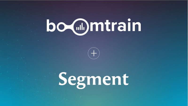 Boomtrain Integration with Segment for marketers