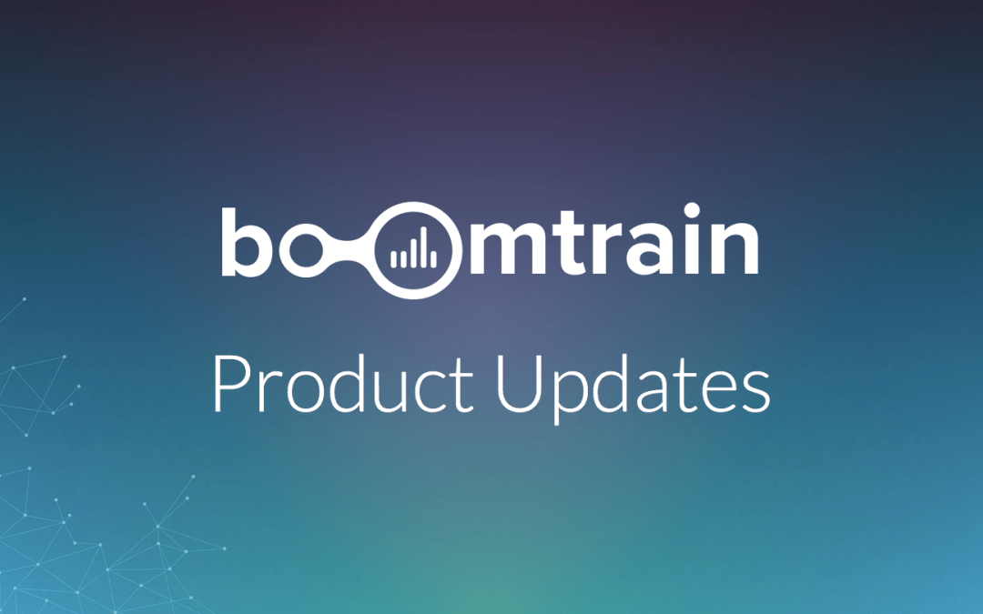 Boomtrain Marketing Engine: August Update